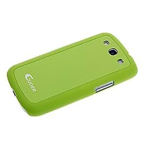 Conseguir Creative PC estuche protector con auriculares Almacenamiento Productos para Samsung Galaxy S3 i9300 - Verde