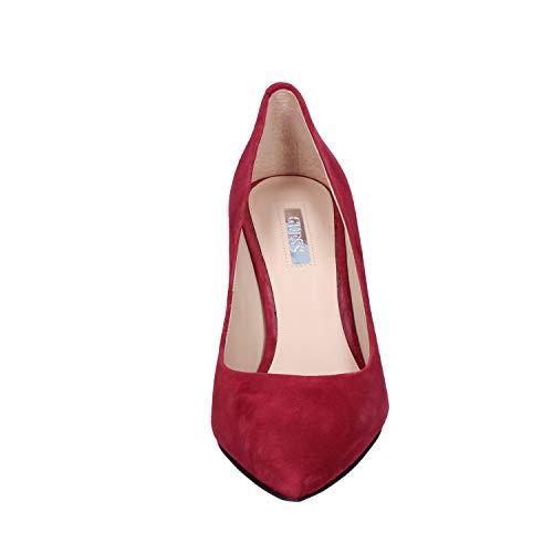 Zapatos Mujer Gamuza Guess Salón De Borgoña 0dnxq46