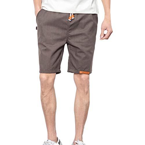 Tinta Sport Teens Di Beach Casual Coulisse Grau Athletics Abbigliamento Mens Pantaloni Festivo Lino Boys Corti Unita Summer EIeWDY9bH2
