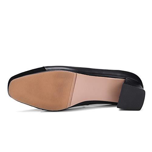 AdeeSu Compensées 36 EU Femme Noir SDC06015 5 Sandales Noir 7ZnqwTz7