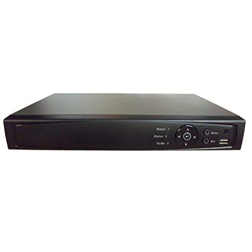 101AV 16CH Surveillance Digital Video Recorder HD-TVI/AHD/CVI H264 1080P Full-HD DVR HDMI/VGA/BNC Video Output Cell Phone APPs for Home & Office HD/Standard Analog & IP Cam (with 6TB HDD, 16CH ()