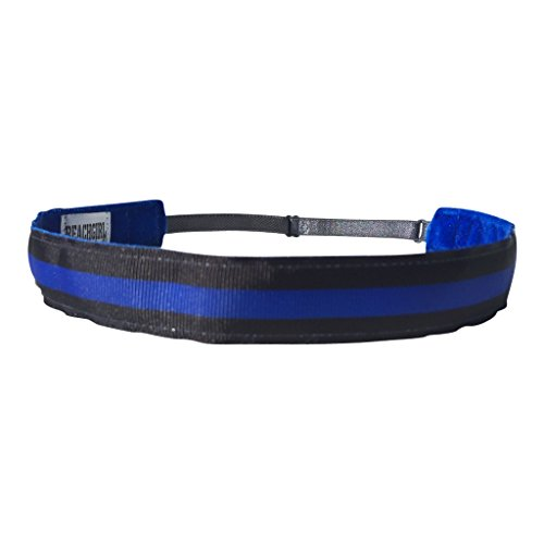 Back The Blue Performance Adjustable Non Slip Headband Hair Band For Women