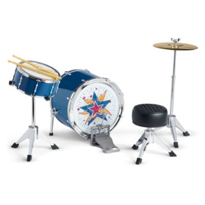 American Girl - Logan Everett - Logan's Rhythmic Drum Set - American Girl Tenney and Logan