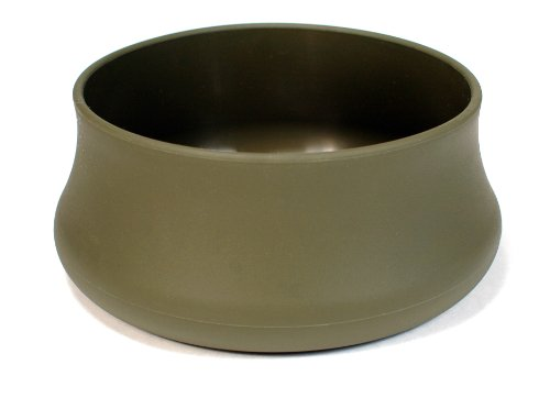 Guyot Designs Silicone Pet Bowl, Hunter Green, 32-Ounce