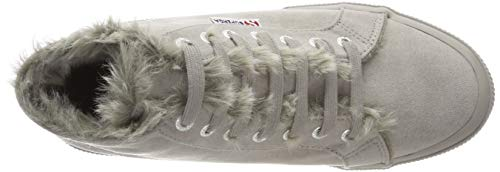 synshearlingw Baskets 2795 Grau Grey Femme Superga 969 full q5vUZ