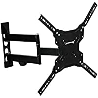 Stanley TV Wall Mount - Slim Full Motion Articulating Mount for Large Flat Panel Television 23-60(TMX-104FM)