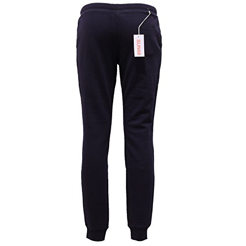Woman Pantalone Sweat SUN Blu Tuta Donna 68 Pant Blue 6476W Cotton qnzwRU6S