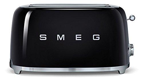 SMEG Tostador TSF02CREU, 1500 W, Acero Inoxidable, 2 Ranuras, Crema: Amazon.es: Hogar
