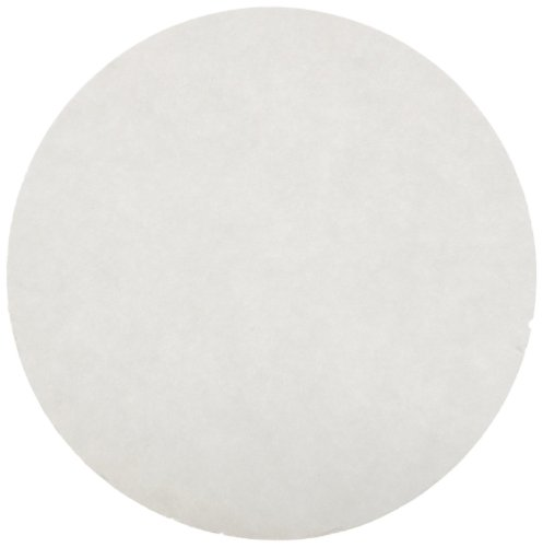 Ahlstrom 0950-1850 Quantitative Filter Paper, 1.5 Micron, Slow Flow, Grade 95, 18cm Diameter (Pack of 100) by Ahlstrom