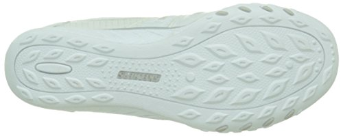 Fashion Skechers White Women's Sport Easy Jackpot Breathe Sneaker qXPqzw