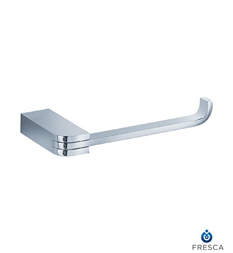 Fresca Bath FAC1329 Solido Toilet Paper Holder, Chrome by Fresca Bath