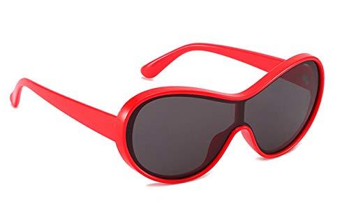 Aokarry Aviator Driving Sunglasses for Men Pilot Glasses Flat Top Red Frame Gray Lens