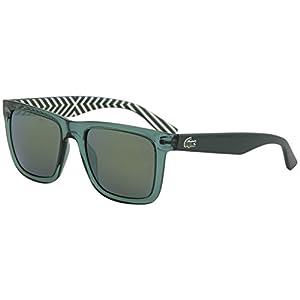 Lacoste L750S Wayfarer Sunglasses, Green, 54 mm