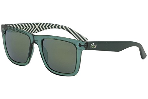 Lacoste L750S Wayfarer Sunglasses, Green, 54 mm