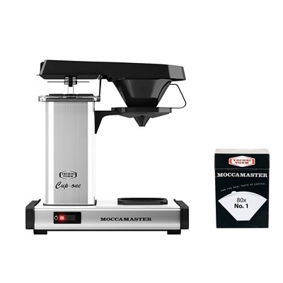 Technivorm Moccamaster Cup-One Coffee Brewer with No. 1 Filter
