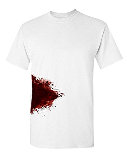 I'm Fine Graphic Zombie Slash Movie Halloween Injury Novelty Cool Funny T Shirt]()