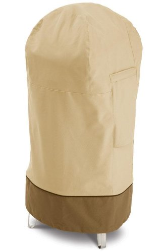 Caddie Patio Gas - Classic Accessories 73002 Veranda Round Smoker Cover, Medium