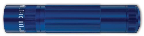 Maglite XL50 LED 3-Cell AAA Flashlight, Blue - Cell Blue Flashlight