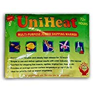 Uniheat 10 Pack 72 Hour Heat Pack - for Baby Chicks, Plants, Fish and Retiles by Uniheat