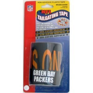 (Green Bay Packers Tailgating Tape 50ft. by)