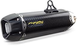 Two Brothers Racing 005-3950405-T Black Carbon Fiber Tarmac Slip-On Exhaust System