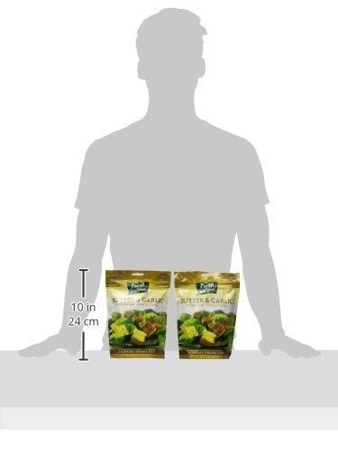 Fresh Gourmet Premium Croutons, Butter & Garlic, 5 Ounce (Pack of 6)
