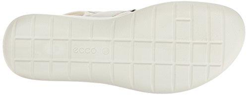 5 Soft 50874white Wei Sandali ECCO White Sandal Donna 645aq5w1