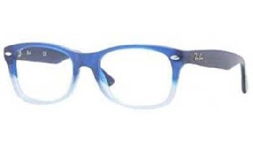 Ray Ban Junior RY1528 Eyeglasses-3581 Opal Blue Faded-46mm (Ray Ban Kids Frames compare prices)
