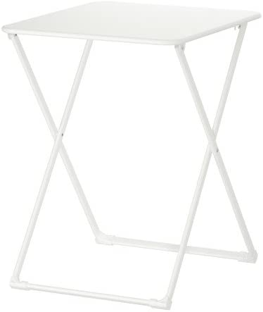 IKEA HARO - Mesa plegable, blanco - 55x60 cm: Amazon.es: Hogar