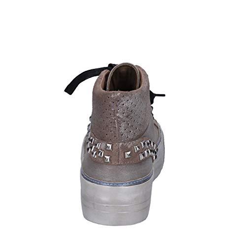 Scamosciata Marrone Sneaker Pelle Donna Crime 6waqxtSB
