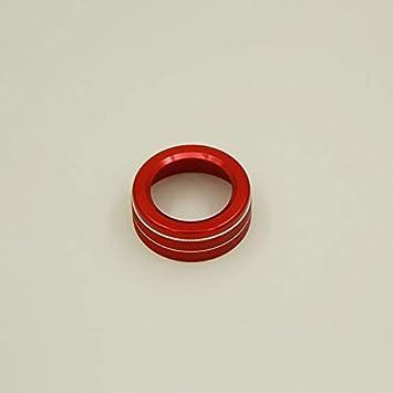 RED Mercedes Benz Aluminium Steering Wheel Surround Trim A C E GLA GLE