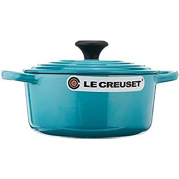 Le Creuset Signature Enameled Cast-Iron 2-Quart Round French (Dutch) Oven, Caribbean