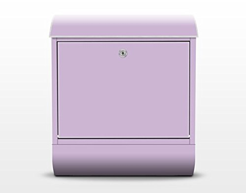 Apalis 71301 Design Briefkasten Colour Lavender 39x46x13cm