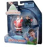 Arthur Christmas Mini Figure 2Pack Santa Bryony by Arthur Christmas