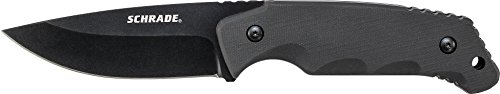 Schrade SCHF49 Full Tang Fixed Blade Knife with Drop Point B