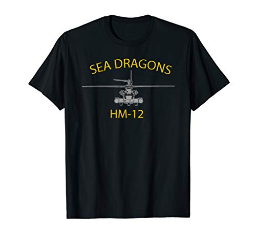 - HM-12 Sea Dragons MH-53 Helicopter Squadron T-shirt
