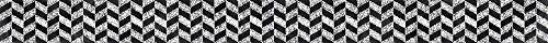 (Creative Teaching Press Herringbone in Chalk Borders, Black/White)