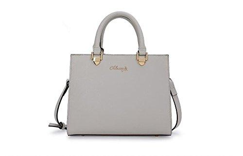 Bolso Grey Bolso moda LANDONA de de señora simple claro de gris Light la bolso señoras hombro bolso las U1wqqXxp