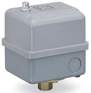 Square D by Schneider Electric 9013GHW2J63 Pressure Switch, 200/250 psi Sensor, NEMA 4 Enclosure, 1/4