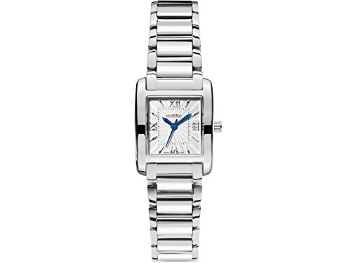 Roamer Swiss Elegance Women's Quartz Watch with Silver Dial Analogue Display and Silver Stainless Steel Bracelet 507845 41 13 50
