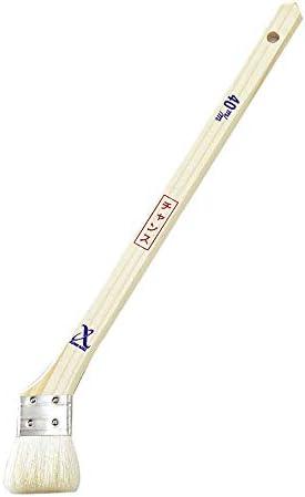 アサヒハケ 金巻 ラック刷毛 チャンス長柄 30cm 50mm H-0962