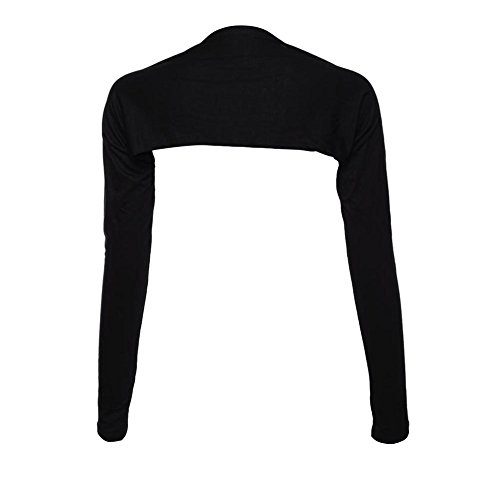 Edal Hayaa Fashion One Piece Sleeves Arm Cover Shrug Bolero Hijab Muslim Black