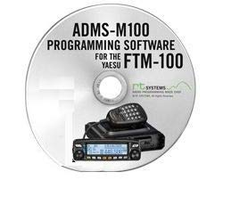 RT Systems ADMS-M100 Programming Software Only for The Yaesu FTM-100