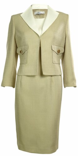 Kasper Womens Business Suit Dress Set