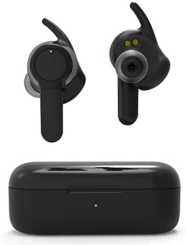 GOODNEW T30 Bluetooth 5.0 Wireless Earbuds with Wireless Charging Case IPX7 Waterproof TWS Built-in Mic Headset Premium Sound For Gym Sport Running
