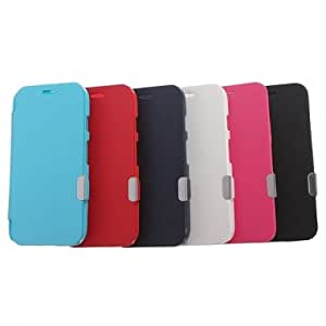 New Slim Magnetic Flip PU Leather Protective Hard Case For Motorola Moto G & Color = Red