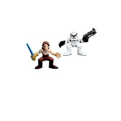 Star Wars: Clone Wars Galactic Heroes Nelvaan Anakin Skywalker & Clone Trooper Action Figure 2-Pack
