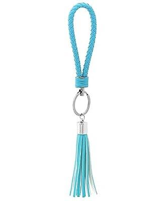 Coordlife Premium Tassel Key Chains for Car Key Ring Bag Purse Charm- Premium Quality