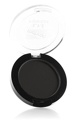 Mehron Makeup Matte E.Y.E Powder, BLACK ONYX (.12 oz) (Black Powder Matte)