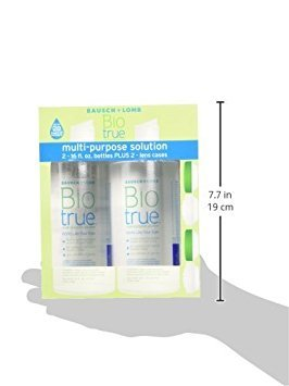 Biotrue Multi-Purpose Solution, 16 oz Twin Pack